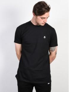 NIXON triko SPARROW BLACK