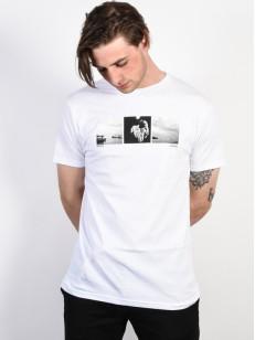 NIXON triko INKED WHITE