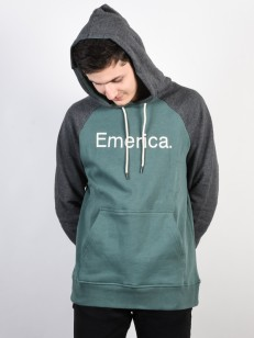EMERICA mikina PURITY GREY/GREEN