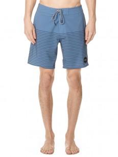 RVCA koupací šortky CURREN TRUNK BLUE SLATE
