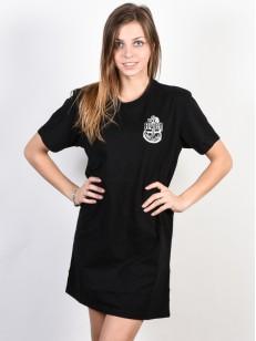 RVCA šaty SAFE HARBOR BLACK