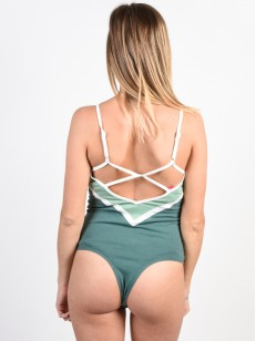 RVCA body REPEAT SILVER/GREEN