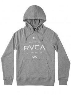 RVCA mikina LOCK IN GREY NOISE