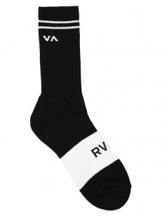 RVCA ponožky BASIC BLOCK BLACK