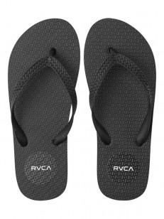 RVCA žabky SLEEPER BLACK