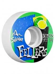 BONES kolečka STF V3 FELLERS MIST WHITE
