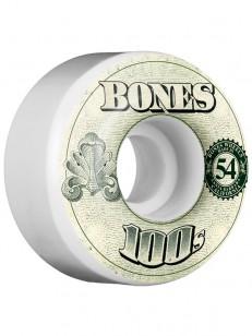 BONES kolečka 100 FORMULA V4 WHITE