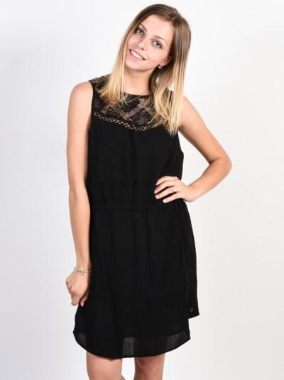 RIP CURL šaty SHELLY Black