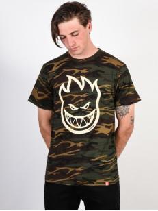 SPITFIRE tričko BIGHEAD CAMO/CREAM