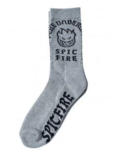 SPITFIRE ponožky STEADY ROCKIN GREY/BLK