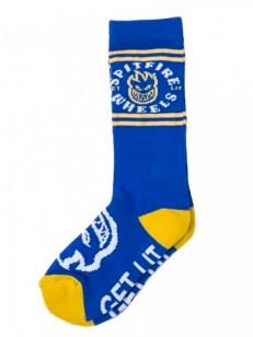 SPITFIRE ponožky CLASSIC BIGHEAD BLU/YLW/WHT