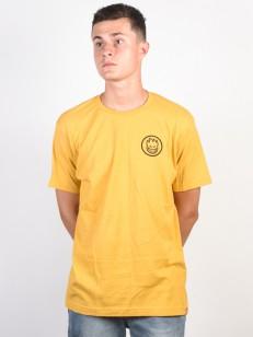 SPITFIRE tričko CLASSIC SWIRL MUSTARD/BLK