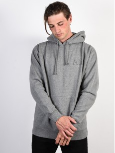 ANTIHERO mikina DROPHERO GUNMETAL HEATHER/GRY