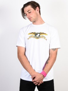 ANTIHERO triko EAGLE WHITE