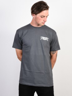 ANTIHERO triko STOCK EAGLE CHARCOAL/WHITE