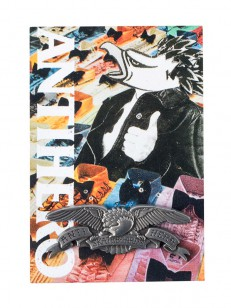 ANTIHERO odznak EAGLE 2 LAPEL PIN