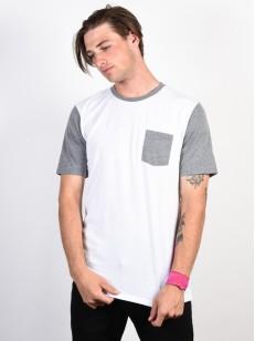 OAKLEY tričko 50- SOLID PKT White