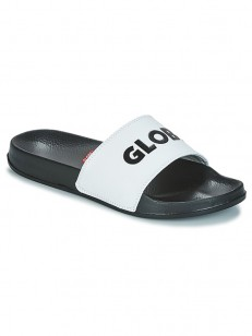 GLOBE žabky UNFAZED SLIDE White/Black