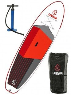 LOKAHI paddleboard W.E.ENJOY Red