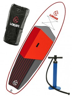 LOKAHI paddleboard W.E.ENJOY PLUS Red