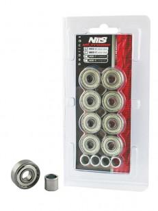 NILS ložiska ABEC 5 EXTREME (8 KS) CARBON STEEL