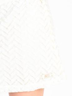 PICTURE sukně BELLA OFF WHITE