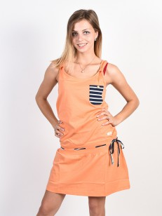 PICTURE šaty LANGO SALMON