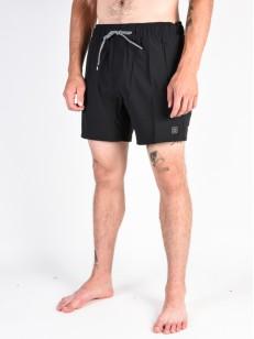 VOLCOM koupací šortky CASE STONEY 16 Black