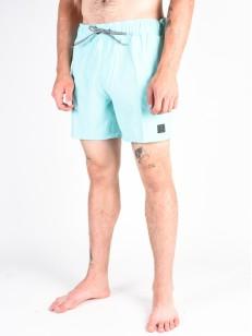 VOLCOM koupací šortky CASE STONEY 16 Pale Aqua