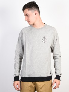EZEKIEL mikina PEPE CREWNECK Heather Light Grey