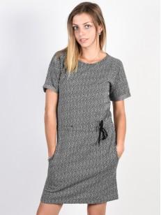 EZEKIEL šaty SQUARE Black