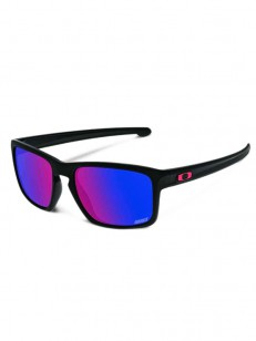 OAKLEY sluneční brýle SLIVER Matte Black MM / Red