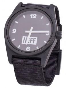 NEFF hodinky DAILY BLACK/WOVEN
