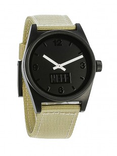 NEFF hodinky DAILY TAN/BLACK/WOVEN