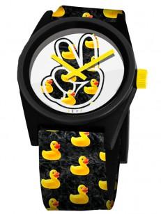 NEFF hodinky DAILY WILD DUCKY WASH/BLACK