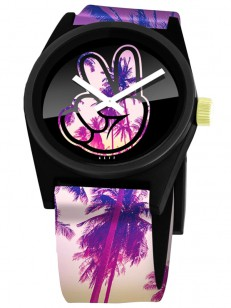 NEFF hodinky DAILY WILD PALMS/PEACE