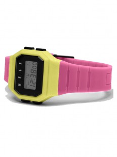 NEFF hodinky FLAVA BUBBLEGUM/LEMONADE