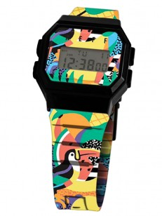 NEFF hodinky FLAVA WILD TROPICAL/BLACK