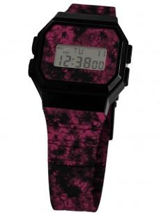 NEFF hodinky FLAVA WILD MAROON WASH/BLACK