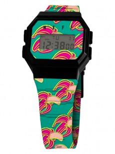 NEFF hodinky FLAVA WILD NANNERS/BLACK