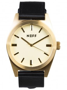 NEFF hodinky NIGHTLY GOLD/BLACK
