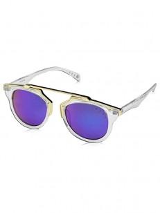 NEFF sluneční brýle RIVIERA CLEAR/GOLD/REVO