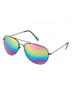 NEFF sluneční brýle BRONZ GLOSS BLACK/RAINBOW