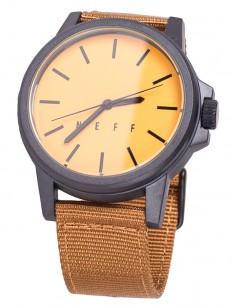 NEFF hodinky CARBINE COCO/GOLD