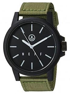 NEFF hodinky CARBINE BLACK/BLACK