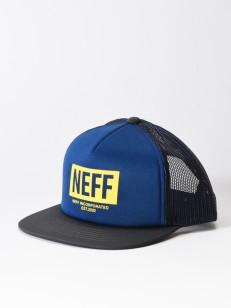 NEFF kšiltovka CORPO NAVY/CHAR/YELLOW