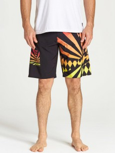 BILLABONG koupací šortky RISING SUN BLACK