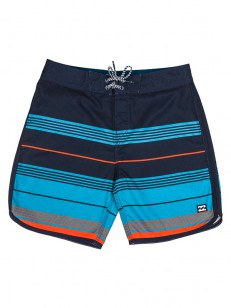 BILLABONG koupací šortky 73 STRIPE OG ORANGE