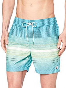 BILLABONG kraťasy ALL DAY STRIPES MINT