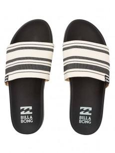 BILLABONG pantofle SURF RETREAT BLACK WHITE